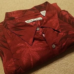 Batik Bay New Red XL Short Sleeve Hawaiian Shirt